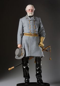 Robert E. Lee. The personification of the perfect Southern gentleman.  Lee may not have been the greatest of the generals but his charisma made him a hero to his armies and an American icon. In the War Between the States, both sides awarded him the highest regard.