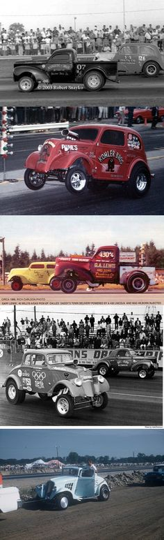 H. R when racing was so cool
