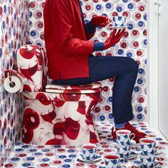La stampa digitale da vita alle sorprendenti creazioni della stilista inglese Katie Eary. Scoprite la collezione #GILTIG. #IKEAfashion #KatieEary