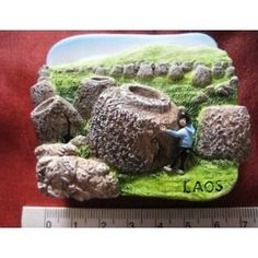 Plain of Jars Laos Lao South Asia High Quality Resin 3D fridge Refrigerator Thai Magnet Hand Made Craft        . Free Shipping Check Price >> http://www.amazon.com/Quality-Refrigerator-Thai-Magnet-Craft/dp/B00A7XNHUU