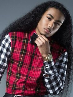 190 Best Long Hair On Black Boys Images In 2019 Natural Hair