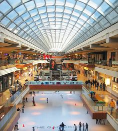 The Galleria in the Uptown District is the largest mall in Texas ~ Houston, TX Great Places, Places Ive Been, Places To Go, Beautiful Places, Houston Galleria, Galleria Mall, Houston Zoo, Houston Shopping, Shopping