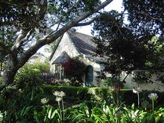 Carmel, California cottage...great location by the sea, and gardening would be in an ideal climate.