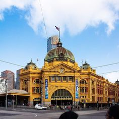 Flinders Street Station #melbourne So much  for this city  #city #citylife #businesstravel  #historicbuilding  Film makers Photographers & Digital  Content Producers. Byron Bay Australia. www.thebakerymedia.com.au  t h e  f r e s h e s t  f i l m &  p h o t o g r a p h y  f o r  b u s i n e s s by thebakerymedia http://www.australiaunwrapped.com/ #AustraliaUnwrapped