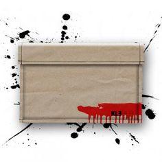 """MacBook 13"""" Air Sleeve *Rain by KLEBER.   RED .LOVE .DEAD. Die hard"""