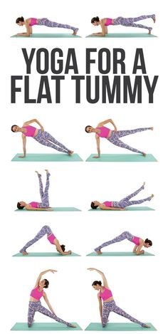 Yoga for a flatter tummy? We'll take it!