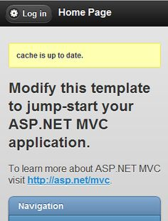 Html5 Offline Cache Integration with ASP.NET MVC Bundle