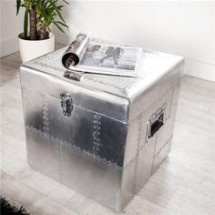 Ventura Design, Retro, Aluminium, Washing Machine, Silver Plate, Vintage, Industrial, Home Appliances, Storage