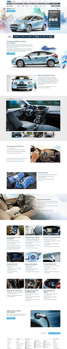 Ford.com Models Details by: Alexis O'Connor