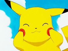 Smooshed face pikachu
