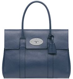 MAGIC OF BLUE BAGS.BOARD BY MARIA FANO - mariafano.com -mulberry-bayswater-dark-blue-1