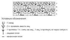 Оригинальнй ажурный сетчатый узор схема 106