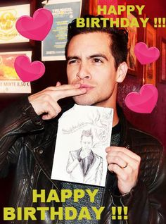 MY GOD IS 29 TODAY! LOVE YOU BRENDON!