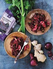 Kidneybønner med rødbeder, gulerødder og blegselleri