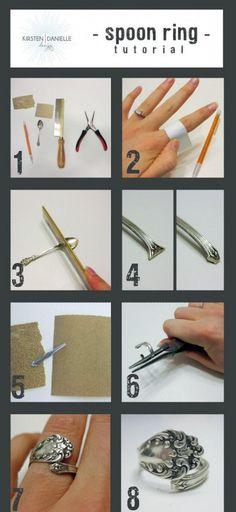 de cuchara a anillo!. DIY