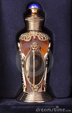 Arabic oil perfume in black box
