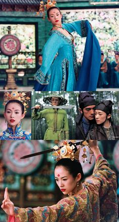 House of Flying Daggers - the most amazing dancing and martial arts movie I've ever seen and I've seen a lot of them :)  Zhang Ziji is surreal...wow!