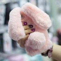 1.Super cute rabbit shape design 2.Coated with warm fur, soft to touch and deluxe in look 3.Can be f