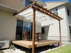 Diy And Crafts, Pergola, Outdoor Structures, Patio, House, Terrace, Home, Outdoor Pergola, Porch