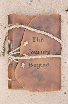 Gypsy, Boho, Free Spirit, Bohemian...wild heart~gypsy soul...Leather journal...The Journey Begins ~Source: acompletelife - http://acompletelife.tumblr.com/post/53670579264