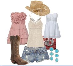 Country Style Clothing   Cowgirl chic ~~country fashion~~   Cowgirl clothing....