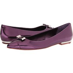 COACH Wynter - These have my name written all over them!  This gorgeous purple color is a must buy, but there is also a black patent leather with shiny yellow gold that is really pretty too.