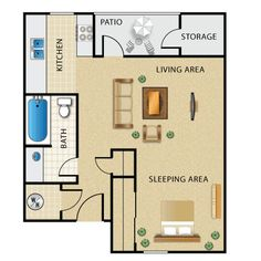 Studio Apartment Setup small space, big style | studio apartment layout, studio apartment