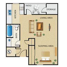Cool Studio Apartment Setups small space, big style | studio apartment layout, studio apartment
