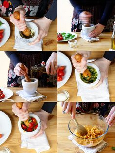 Vingt recettes de pesto