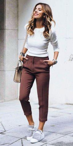 business casual outfits for women you. Womens business casual slacks work outfits ideas for 2019 - - Fashion Mode, Work Fashion, Daily Fashion, Trendy Fashion, Fashion Clothes, Fashion Trends, Fashion Ideas, Fashion Shoes, Ladies Fashion