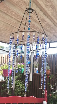 Wind Chimes, Outdoor Decor, Projects, Home Decor, Log Projects, Blue Prints, Decoration Home, Room Decor, Home Interior Design