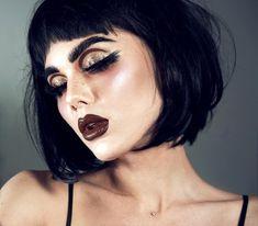 "11.5 mil curtidas, 79 comentários - Linda Hallberg (@lindahallberg) no Instagram: ""Perfect messy!  #fotd #makeup #mua"""