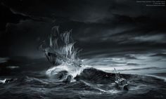 paranormal pictures and images | Ghost ship series: The ninth wave, Ghost ship Flying Dutchman ninth ...