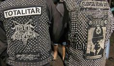 Metal/Punk Studded Jackets