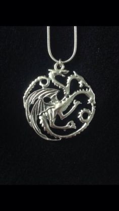Targaryen #dragon pendant #necklace #(game of thrones),  View more on the LINK: 	http://www.zeppy.io/product/gb/2/262216084556/