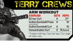 Arm Workout by Terry Crews - The Expendables