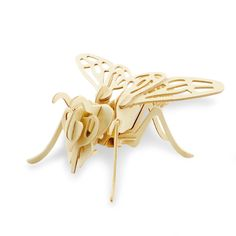 Bee 3D Wooden Puzzle -  Woodcraft Construction Kit