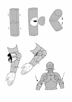 Ya'll want... sum armor? - Imgur Armadura Medieval, Medieval Armor, Medieval Fantasy, Armor Concept, Concept Art, Design Reference, Drawing Reference, Knight Drawing, Drawing Armor