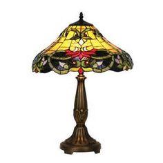 Tiffany Table Lamps on Oaks Ot 1920 16 Tl Soren Tiffany 2 Light Table ...