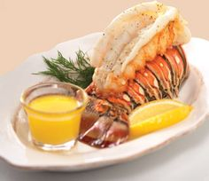 Fred Meyer - Leigh Ann - Recipes - Seafood - Broiled Lobster Tails dinner, broil lobster, favorit seafood, favorit fooddrink, lobster tail, lobsters, eat, yummi, seafood recip