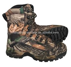 Hunting Camouflage Waterproof Tactical Combat Boots