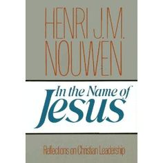 I just finished this book and it was so good that I want to buy multiple copies.  Simple yet incredibly deep, full of rich lessons from Nouwen's own difficult path.