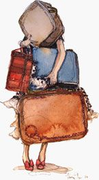 Too much stuff? OneBag.com - The Art and Science of Packing Light - sooooo much good stuff!!
