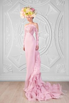 Rami Kadi Wedding Dresses with Glamour - MODwedding Evening Dresses, Prom Dresses, Formal Dresses, Beautiful Gowns, Beautiful Outfits, Elegant Dresses, Pretty Dresses, Mode Glamour, Look Formal