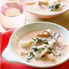 Red Curry Fish Stew with Rau Ram | MyRecipes.com