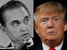 The Hill calls lifelong Democrat segregationist George Wallace a Republican in a piece about Donald Trump.
