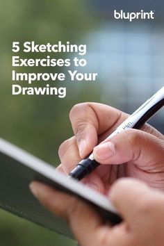 5 Sketching Exercises to Improve Your Drawing: If you want to improve your drawing skills, you've gotta do some drawing. Drawing Skills, Drawing Lessons, Drawing Techniques, Drawing Tips, Painting & Drawing, Pencil Drawing Tutorials, Drawing Artist, Daily Drawing, Body Painting