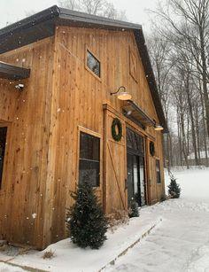 New Build Barn Home Exterior Lighting, Outdoor Lighting, New Builds, Curb Appeal, Barn, House Styles, Building, Home Decor, Outdoor Deck Lighting