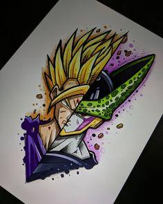 Dbz Drawings, Marvel Drawings, Cool Drawings, Dope Cartoon Art, Dragon Ball Gt, Disney Art, Doodle Art, Sketches, Artwork