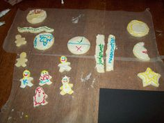 Plan of Salvation Cookies. Tell story with cookies and let kids eat them afterwards